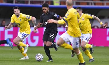 Andrei Burcă, într-un meci România - Germania / Foto: Sport Pictures