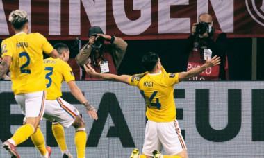 Ianis Hagi, după golul marcat în meciul cu Germania / Foto: Facebook@ianishagi