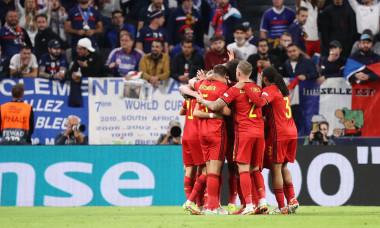Belgium v France, UEFA Nations League Semi-finals, Football, Allianz Arena, Turin, Italy - 07 Oct 2021