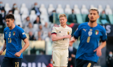 football UEFA Nations League match Third-place play-off between Italy and Belgium, Turin, Italy - 10 Oct 2021