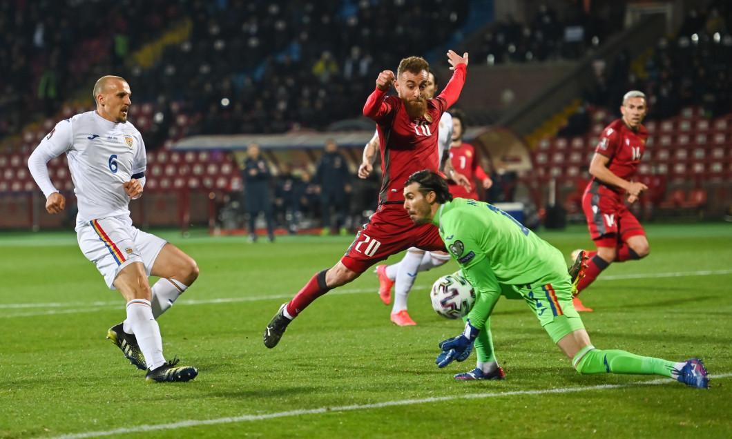 Florin Niță, în meciul Armenia - România / Foto: Profimedia