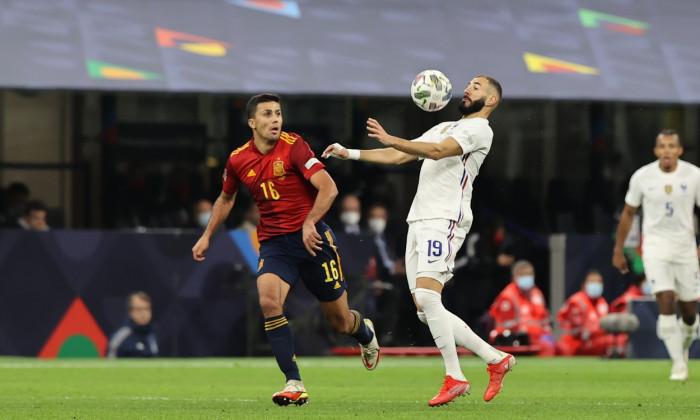 football UEFA Nations League match Final - Spain vs France, Milan, Italy - 10 Oct 2021