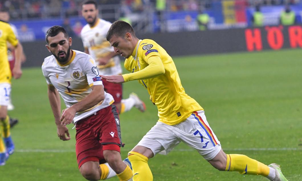 Valentin Mihăilă, în meciul România - Germania / Foto: Sport Pictures