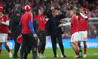 Denmark v Austria - World Cup Qualification, Copenhagen - 12 Oct 2021