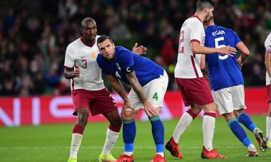 Republic of Ireland v Qatar, International Friendly, Football, Aviva Stadium, Dublin, Ireland - 12 Oct 2021