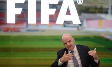 (SP)MALTA TA'QALI FIFA PRESIDENT VISIT