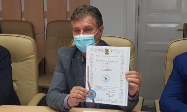 Foto certificat brand Corvinul