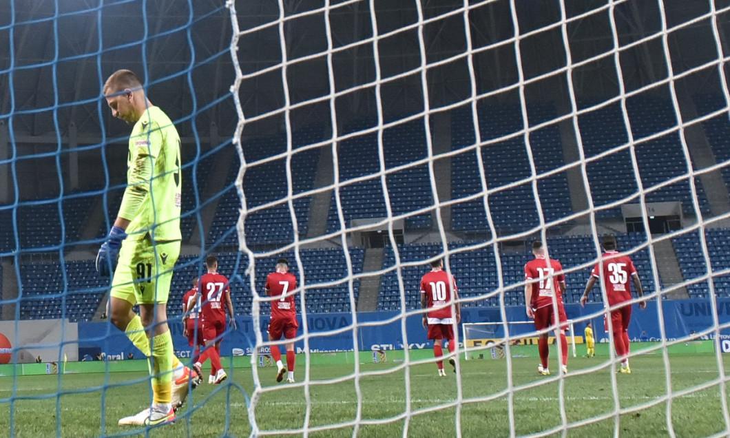 Plamen Iliev, în meciul Universitatea Craiova - Dinamo / Foto: Sport Pictures