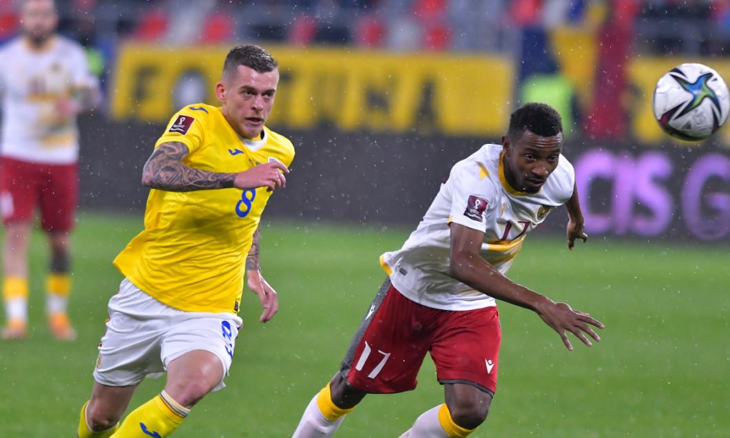 Alexandru Cicâldău, în meciul România - Armenia / Foto: Sport Pictures