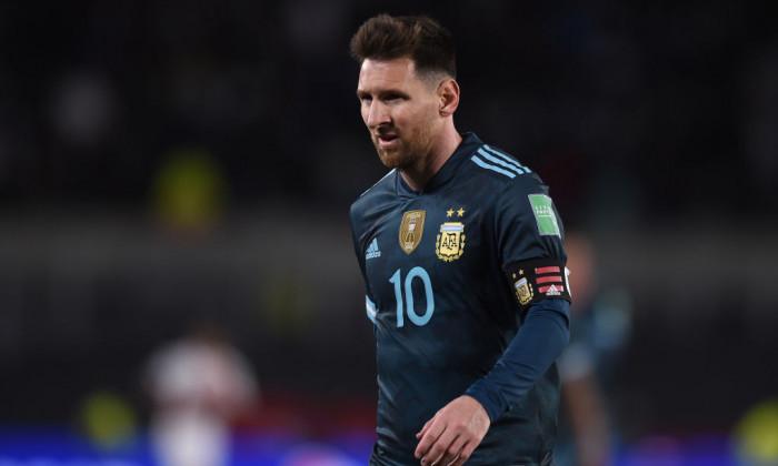 Argentina v Peru - FIFA World Cup 2022 Qatar Qualifier