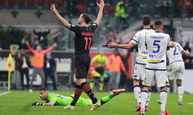 Italian football Serie A match AC Milan vs Hellas Verona FC, Milan, Italy - 16 Oct 2021