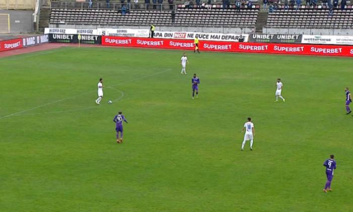 Meciul dintre FC Argeș și Farul