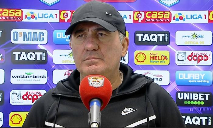 Gheorghe Hagi, managerul de la Farul Constanța / Foto: Captură Digi Sport