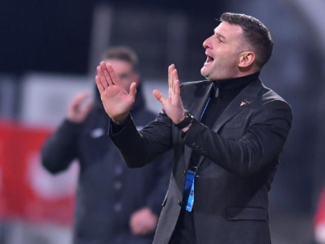 """Laszlo Balint, pe jumătate mulțumit de jocul echipei sale: """"Am niște semne de întrebare, am avut șansă la gol!"""""""