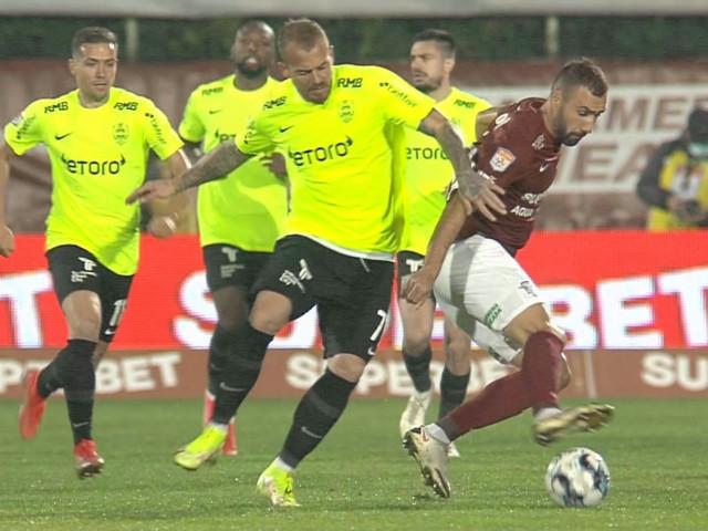Rapid - CFR Cluj 0-0, ACUM, pe Digi Sport 1. Giuleștenii, fără victorie în ultimele 5, ratează pe bandă rulantă