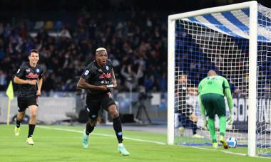 Victor Osimhen, după golul marcat în Napoli - Torino / Foto: Getty Images