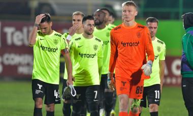 Fotbaliștii de la CFR Cluj, înaintea meciului cu Rapid / Foto: Sport Pictures