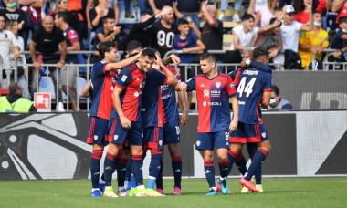Italian football Serie A match Cagliari Calcio vs UC Sampdoria, Cagliari, Italy - 17 Oct 2021