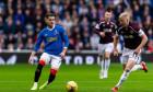 Rangers v Hearts, Cinch Scottish Premiership, Football, Ibrox Stadium, Glasgow, Scotland, UK - 16 Oct 2021
