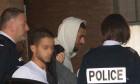 Karim Benzema quitte le tribunal de Versailles