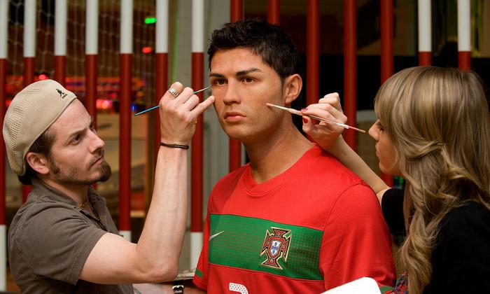 Cristiano Ronaldo - Waxwork Unveiling