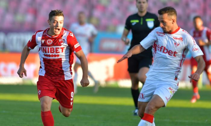 Gabi Torje, în meciul dintre Dinamo și UTA Arad / Foto : Sport Pictures