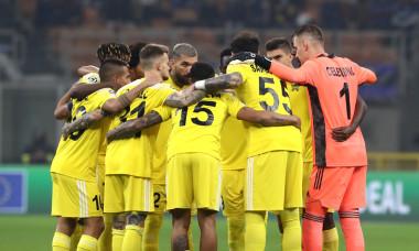Fotbaliștii lui Sheriff, la meciul cu Inter / Foto: Getty Images