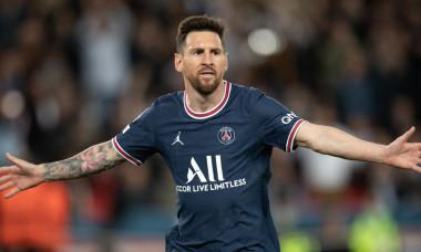 Lionel Messi, în meciul cu RB Leipzig / Foto: Profimedia