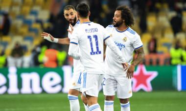 Fotbaliștii lui Real Madrid, în meciul cu Șahtior / Foto: Profimedia
