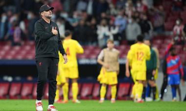 Atletico Madrid v Liverpool, UEFA Champions League, Group B, Football, Estadio Metropolitano, Madrid, Spain - 19 Oct 2021