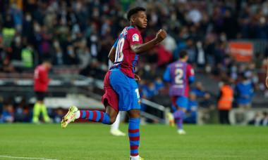 FC Barcelona v Valencia CF - LaLiga Santander, Spain - 17 Oct 2021