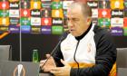 Galatasaray gives press confrence before UEFA Europa League match against Lokomotiv Moscow
