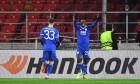 Patson Daka, în meciul Spartak Moscova - Leicester / Foto: Profimedia