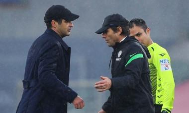 Paulo Fonseca și Antonio Conte / Foto: Profimedia