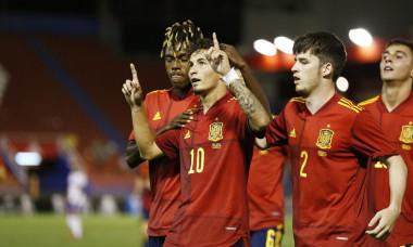 Soccer : UEFA Under-21 Championship 2023 Qualifying Round : Under-21 Spain 4-1 Under-21 Russia