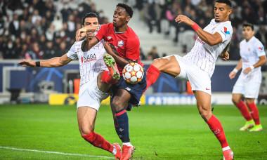 UEFA Champions League football match LOSC Lille vs Sevilla FC, Villeneuve-d'Ascq near Lille, France - 20 Oct 2021