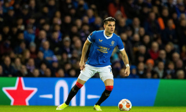 Rangers v Brondby, UEFA Europa League, Group A, Football, Ibrox Stadium, Glasgow, UK - 21 Oct 2021