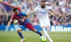 FC Barcelona V Real Madrid - La Liga Santander, Spain - 24 Oct 2021