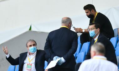 Adrian Mutu, Mihai Stoichiță și Răzvan Burleanu, la meciul FCSB - Sepsi / Foto: Sport Pictures