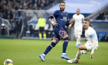 French football Ligue 1 match Olympique de Marseille (OM) vs Paris Saint-Germain (PSG), Marseille, France - 24 Oct 2021