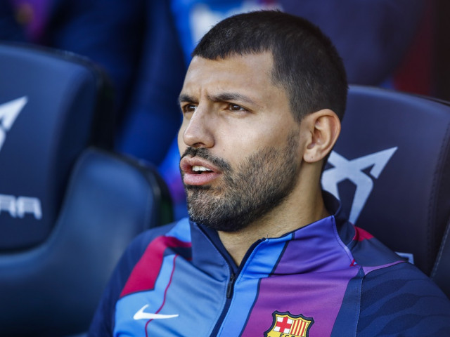 """Aguero s-a chinuit să recite imnul Barcelonei la derby-ul cu Real Madrid: """"Mă filmezi?"""""""