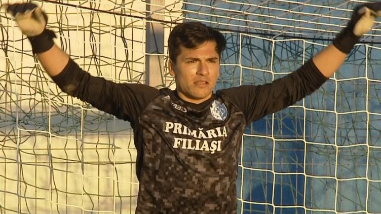 Cum a reușit Florin Șerban, eroul lui CSO Filiași, să apere trei penalty-uri cu Hermannstadt. Ce a spus despre o posibilă primă