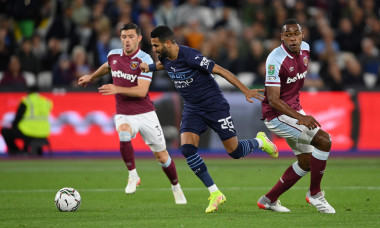 West Ham United v Manchester City - Carabao Cup Round of 16