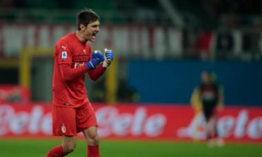 Ciprian Tătărușanu, după meciul Milan – Torino 1-0. Foto: Profimedia.