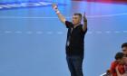 Xavier Pascual, la meciul dintre Dinamo și Veszprem HC / Foto : Sport Pictures