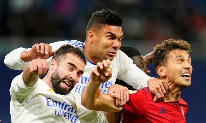 Real Madrid v CA Osasuna, La Liga 2021-2022, date 11. Football, Santiago Bernabeu Stadium, Madrid, Spain - 27 Oct 2021
