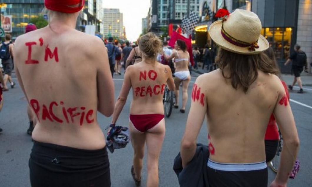 proteste montreal