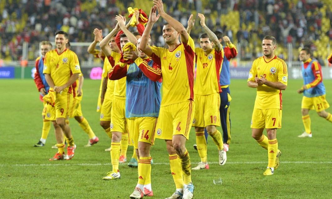 bucurie romania dupa victoria cu turcia