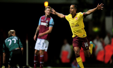 walcott arsenal west ham