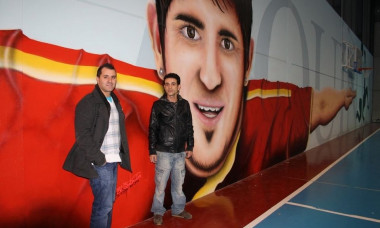 grafitti david villa